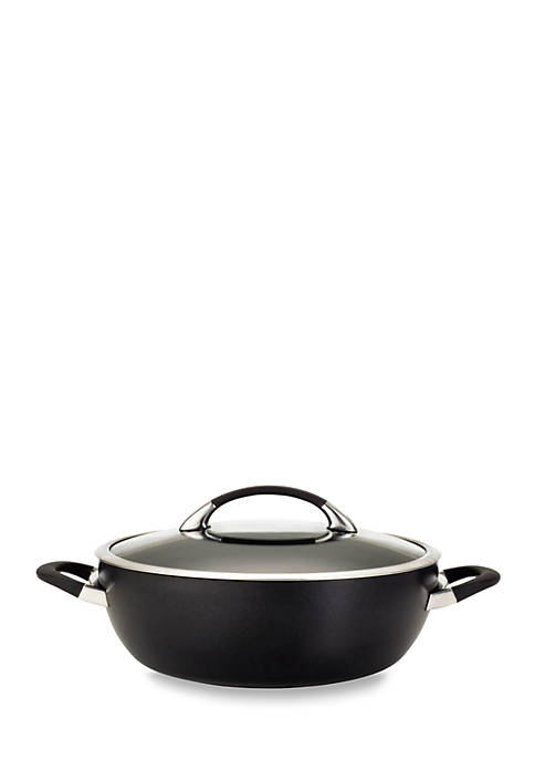 Circulon Symmetry 5.5-qt. Covered Casserole, Black