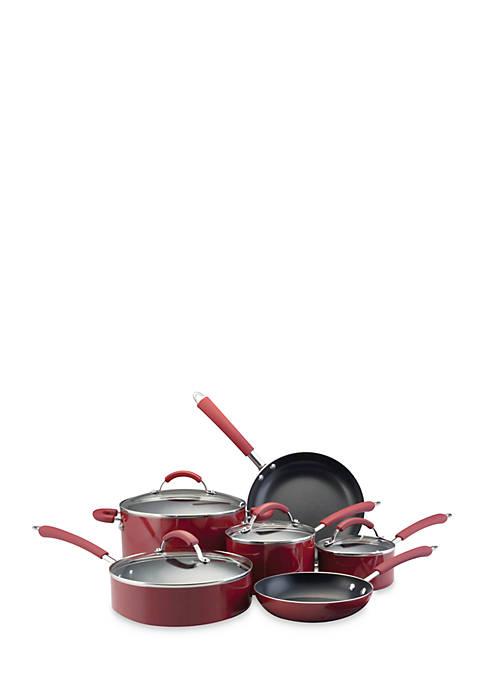 Farberware Millennium Colors Nonstick Aluminum 12-Piece Cookware