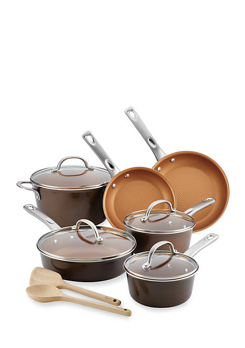 Ayesha Curry Home Collection 12-Piece Porcelain Enamel Nonstick