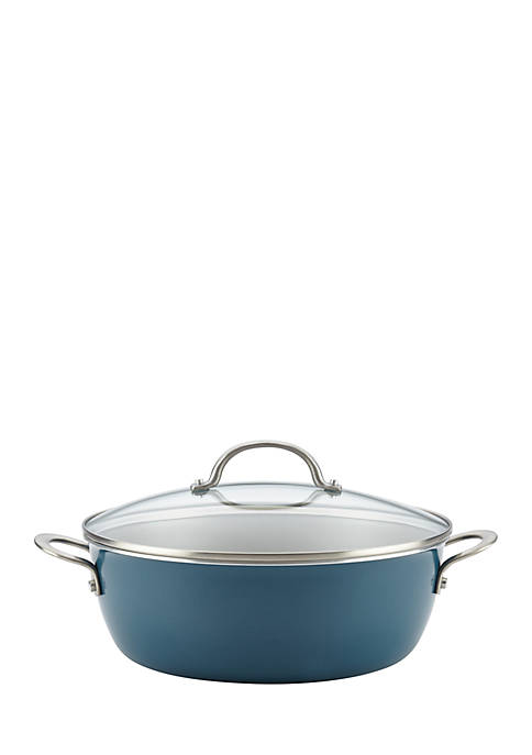 Ayesha Curry 7.5-qt. Porcelain Enamel Covered One Pot