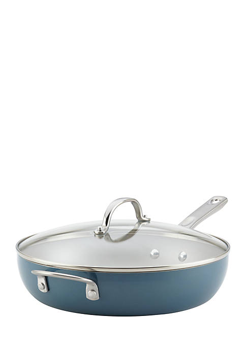 Ayesha Curry 12-in. Nonstick Deep Skillet With Helper