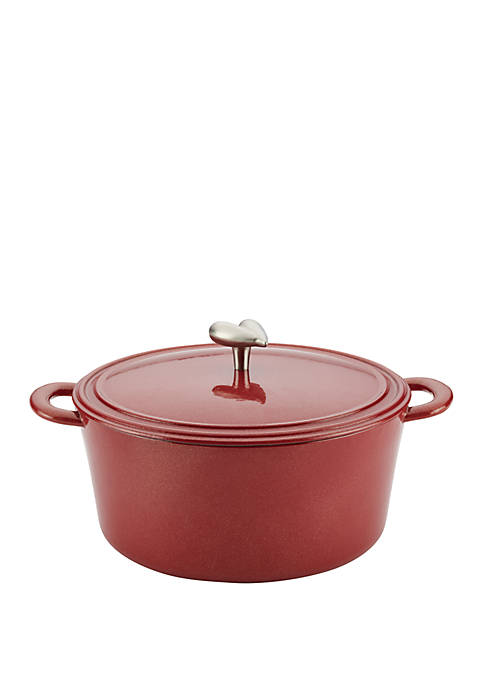 Ayesha Curry Collection Cast Iron Enamel Covered 6
