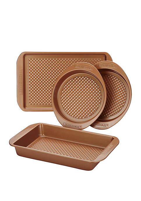 Farberware Colorvive Nonstick Bakeware 4 Piece Set