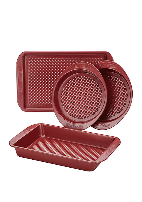 Colorvive Nonstick Bakeware 4 Piece Set