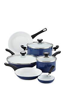 Ceramic Nonstick Cookware 12-Piece Cookware Set