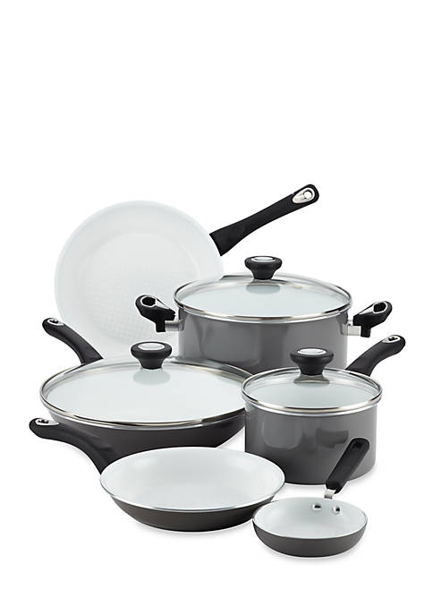 Ceramic Nonstick Cookware 12-Piece Cookware Set