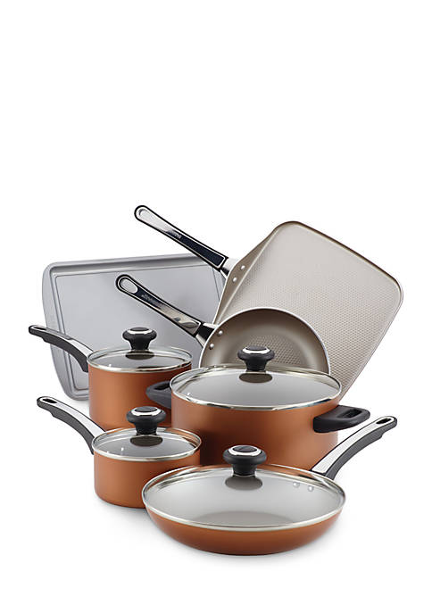 Farberware High Performance Nonstick Aluminum 17-Piece Cookware