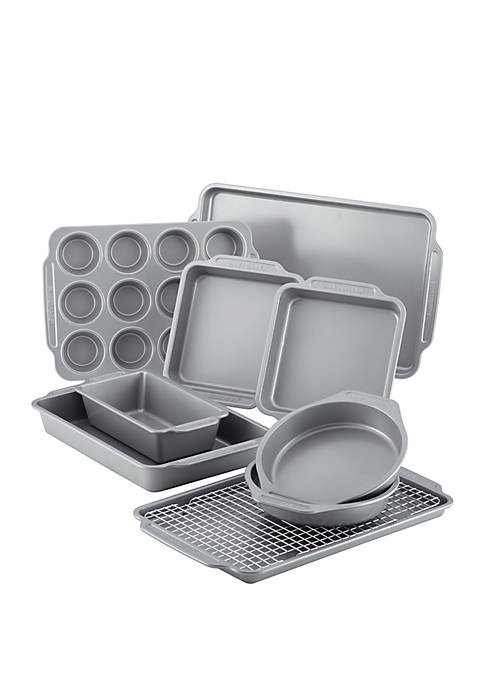 Farberware 10 Piece Nonstick Bakeware Set with Cooling