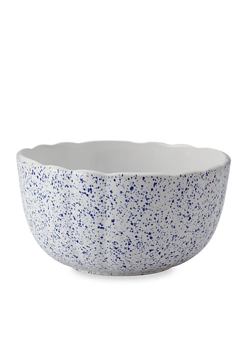 Speckled Stoneware Ceramic 3-qt. Mixing Bowl