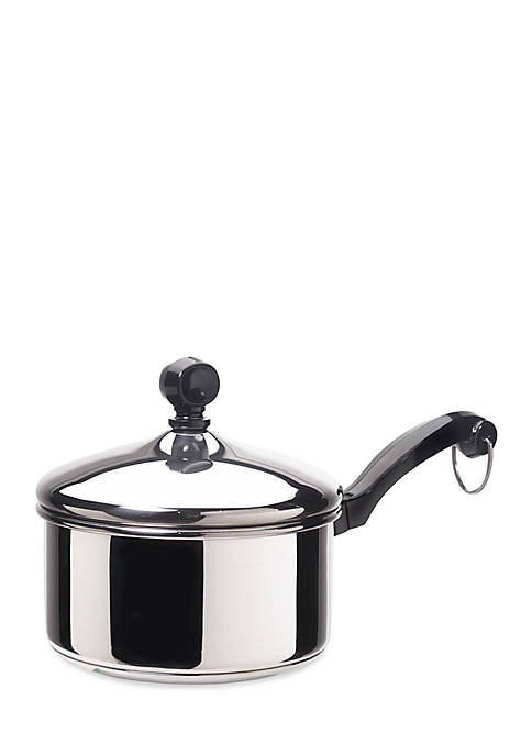 Farberware Classic Series 1-qt. Covered Saucepan, Stainless Steel