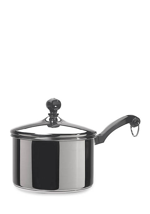 Farberware Classic Series 2-qt. Covered Saucepan, Stainless Steel
