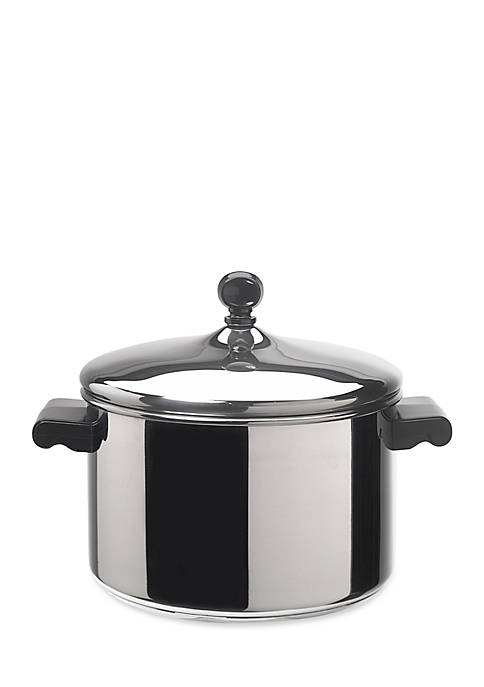 Classic Series 4-qt. Covered Saucepot, Stainless Steel