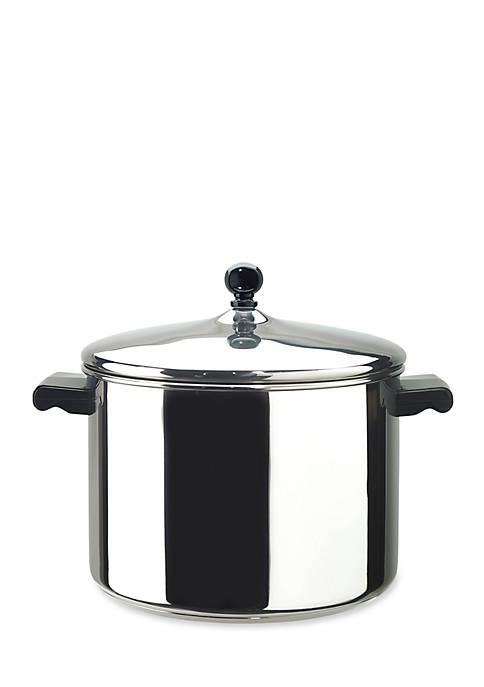 Farberware Classic Series 8-qt. Covered Stockpot, Stainless Steel
