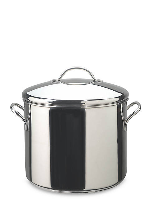Classic Series 12-qt. Covered Stockpot, Stainless Steel