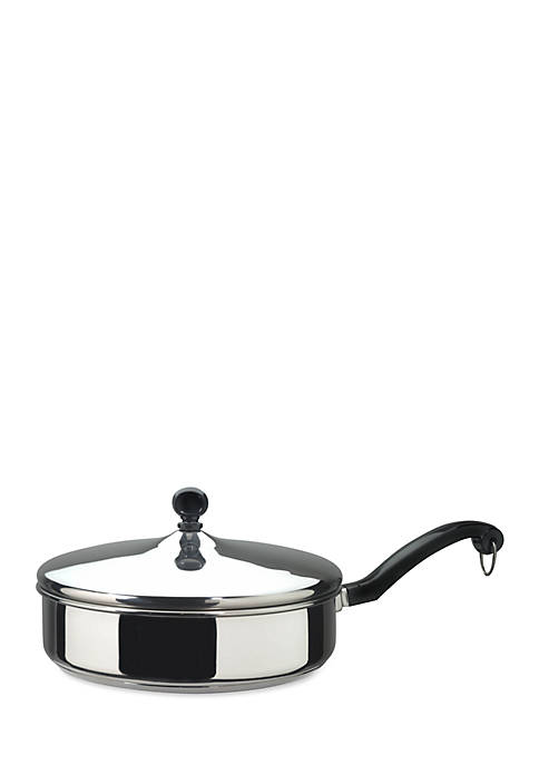 Farberware Classic Series 10-in. Covered Frypan, Stainless Steel
