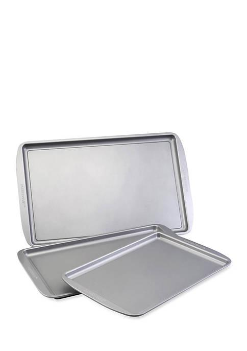 Farberware Bakeware 3-Piece Cookie Pan Set