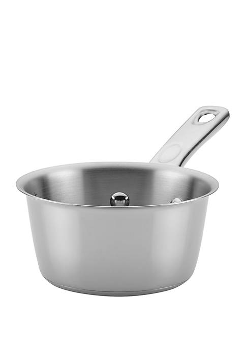 Ayesha Curry Stainless Steel Saucepan, 1 Quart