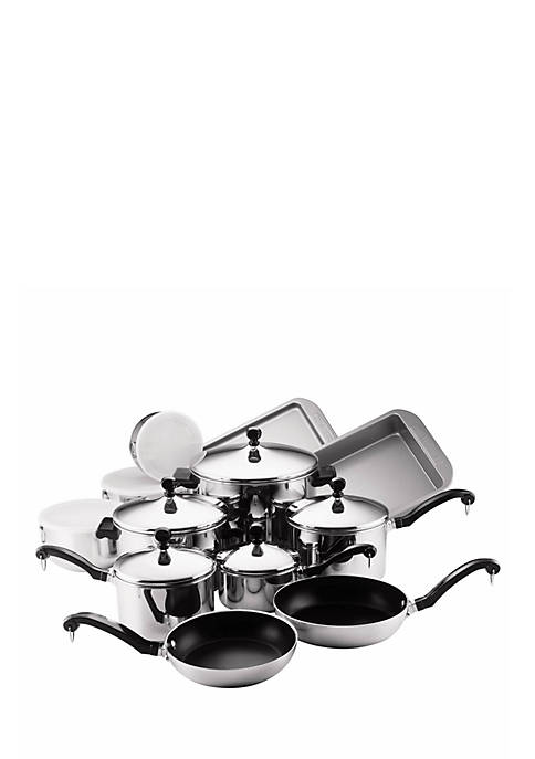 Classic Series 17-Piece Set, Stainless Steel