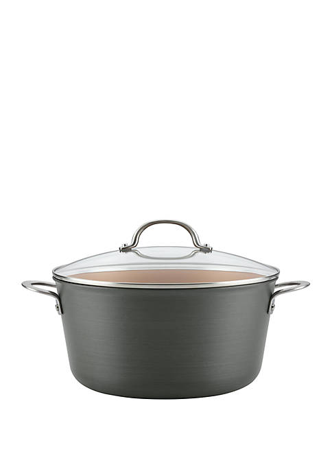 Ayesha Curry Hard Anodized Aluminum Stockpot, 10 qt