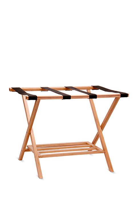 Household Essentials® Bamboo Luggage Rack