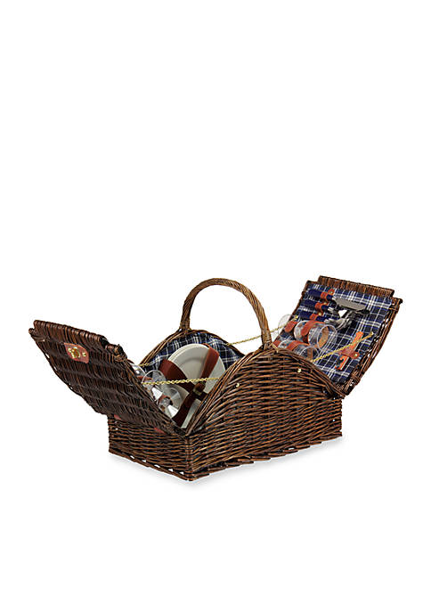 Household Essentials® Willow Picnic Basket Fully Lined Service