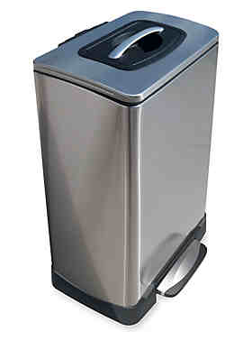 Trash Cans Kitchen Trash Stainless White More Belk