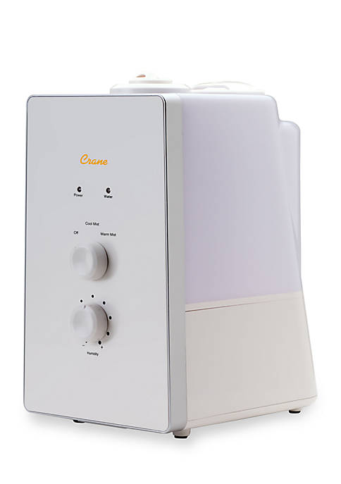 Crane Clean Control Warm & Cool Mist Humidifier
