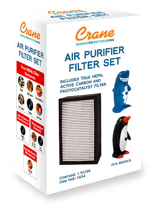 Crane True HEPA Air Purifier Filter