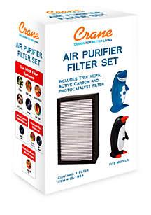 Crane HEPA-Type Air Purifier Filter