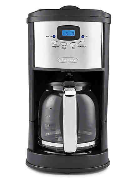 BellaR 12 Cup Polished Coffeemaker