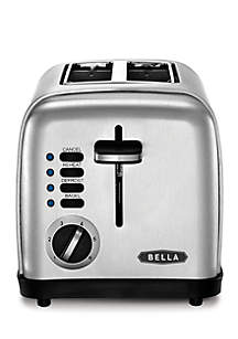 Bella® Stainless Steel 2 Slice Toaster- BLA14328