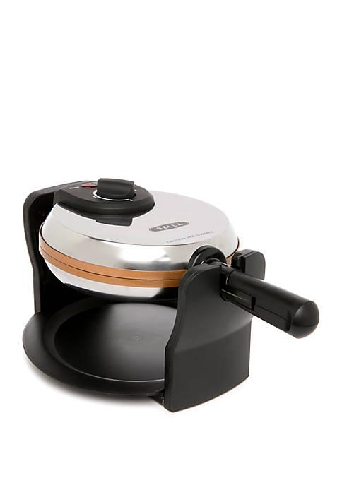 Bella® Bella Rotating Waffle maker Ceramic Copper Titanium