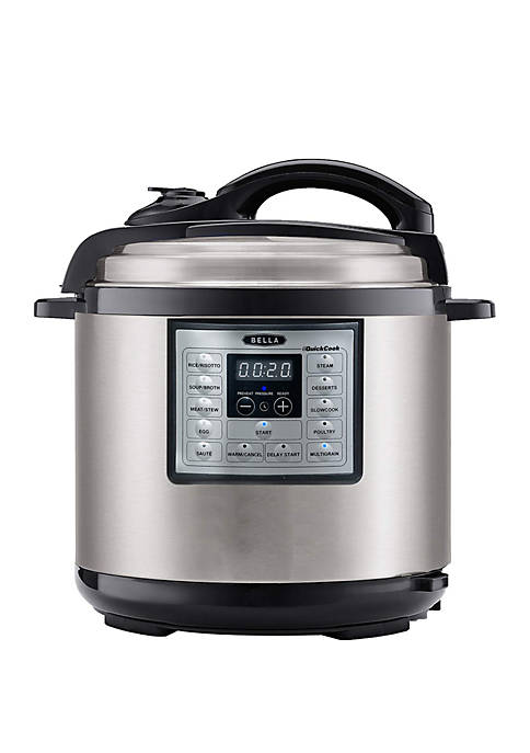 Bella® 6 Qt 10 in 1 Multi Cooker