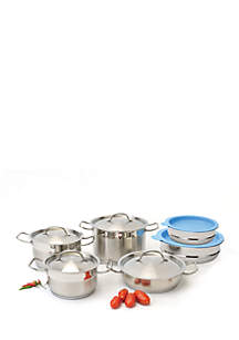 BergHOFF® Hotel Line 12-Piece Cookware Set With Mixing Bowls