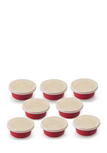Geminis 16-Piece Covered Round Dish Set