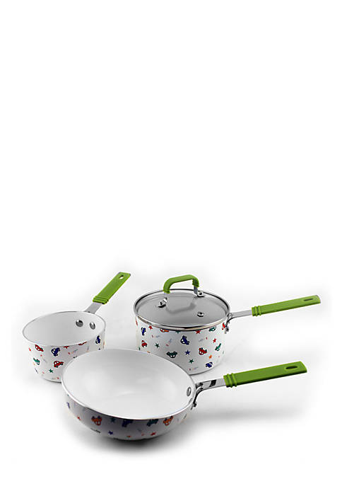 Childrens 4-Piece Cookware Set