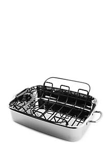 Stainless Steel 15-in. Roaster Pan