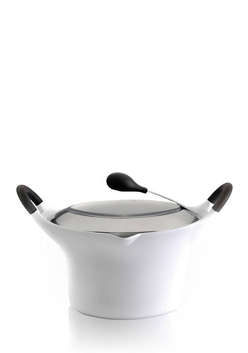 BergHOFF® White Auriga 2.1-qt. Covered Casserole