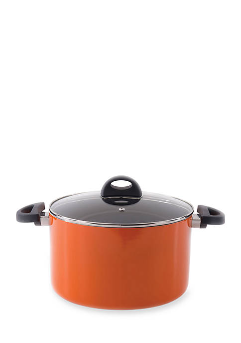 10-in. Stacca Covered Stock Pot