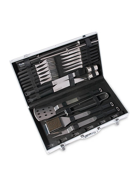 Eclipse 33-Piece BBQ Set with Ergonomic Handles