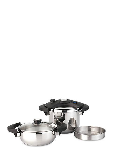 BergHOFF® Eclipse 5-Piece Pressure Cooker Set