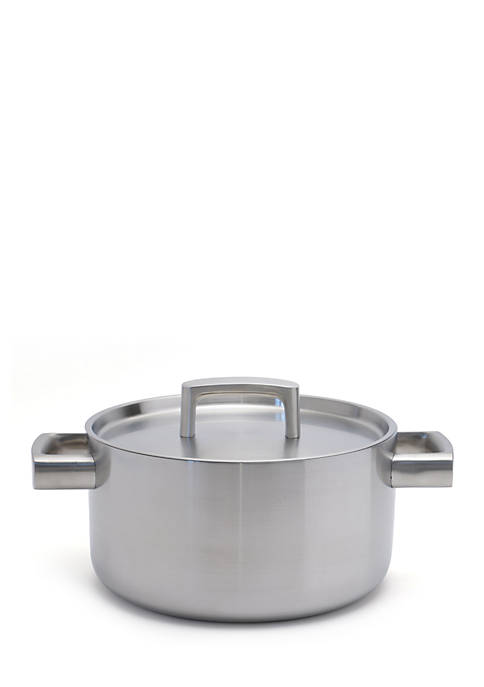BergHOFF® Ron 5-Ply Stainless Steel 4.5-qt. Covered Casserole