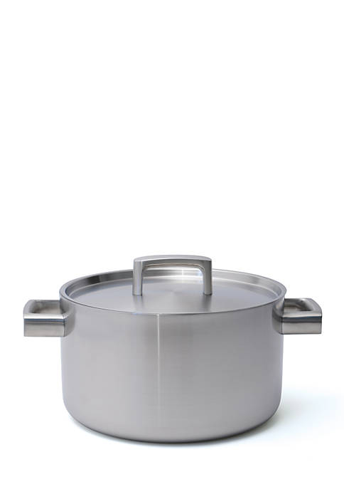 BergHOFF® Ron 5-Ply Stainless Steel 6.4-qt. Covered Stockpot
