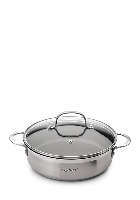BergHOFF® Bistro 10-in. Covered 2 Handle Deep Skillet