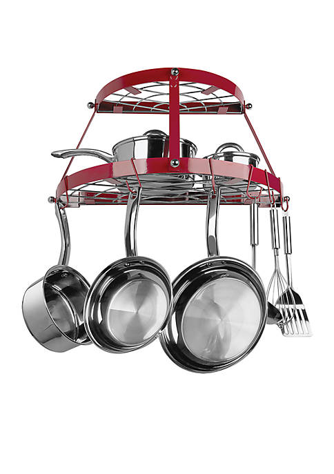 Berndes Double Shelf Wall Hanging Pot Rack