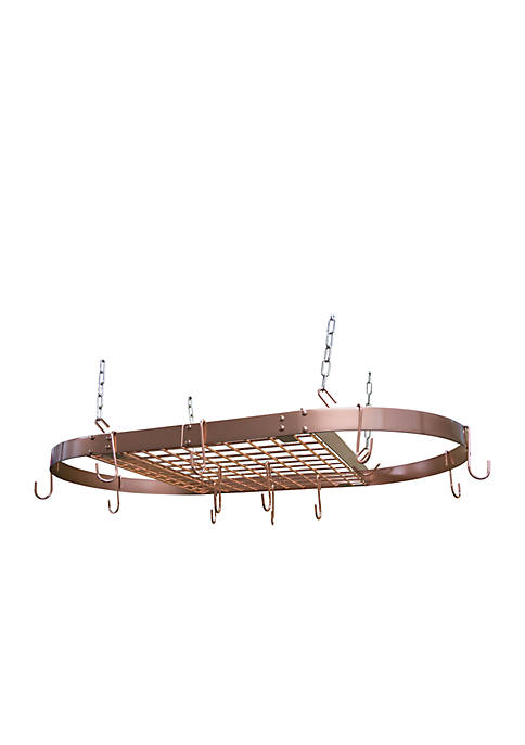 Range Kleen® Oval Copper Pot Rack