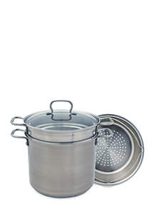 12-qt. Stainless Steel Multi Cooker
