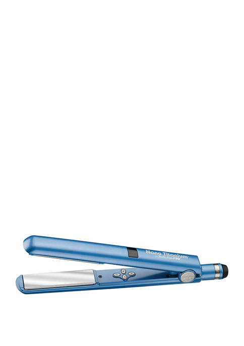 BaByliss®PRO 1 in Digital Memory Flat Iron Blue