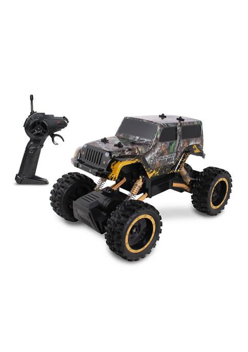 RC Jeep Wrangler Rock Crawler