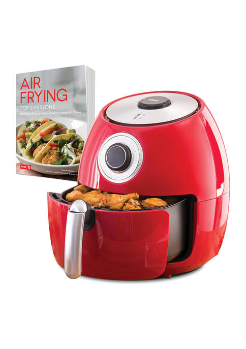 Dash™ 6 Quart Family Air Fryer with Cookbook
